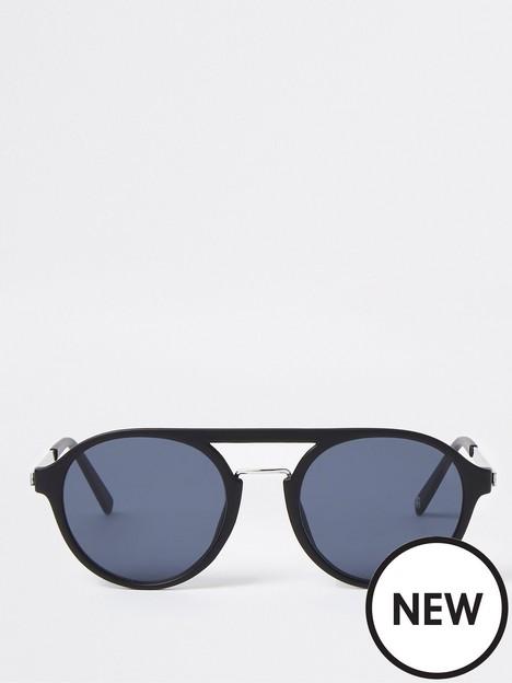 river-island-tinted-lense-aviator-sunglasses-black