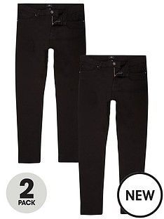 river-island-skinny-jeans-2-pack-black