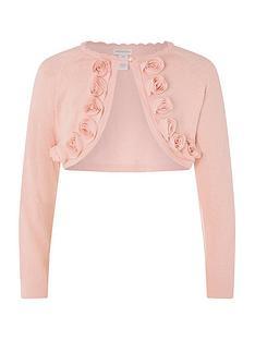 monsoon-girls-corsage-trim-cardigan-pink
