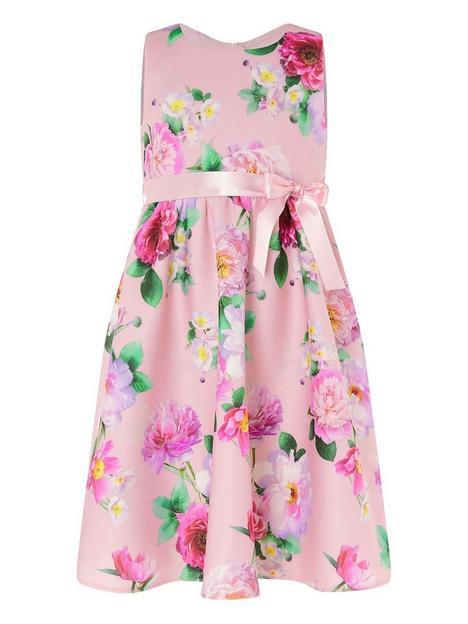 monsoon-girls-floral-sleeveless-scuba-dress-pink