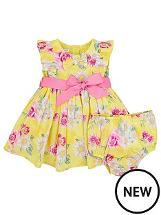monsoon-baby-girls-floral-print-daisy-dress-yellow