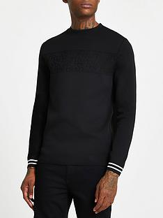 river-island-wordy-knitted-jumper-black