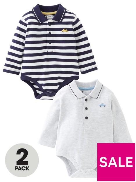 mini-v-by-very-baby-boy-2-pack-polo-bodysuit-multi
