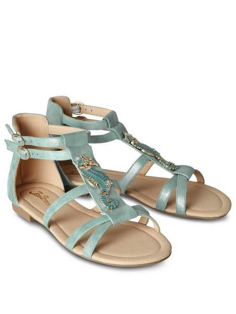 joe-browns-shimmer-seahorse-sandals-aqua
