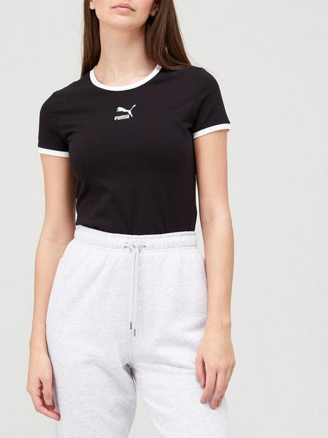 puma-classics-fitted-top-black