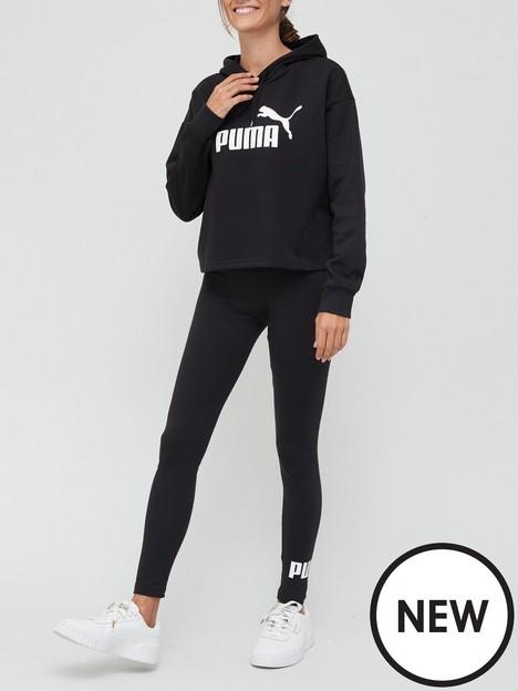 puma-essentialsnbspcropped-logo-hoodie-amp-logo-leggings-setnbsp--black