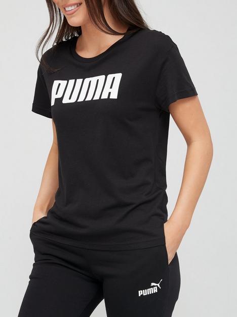 puma-readynbsptonbspgonbsplogo-tee-black