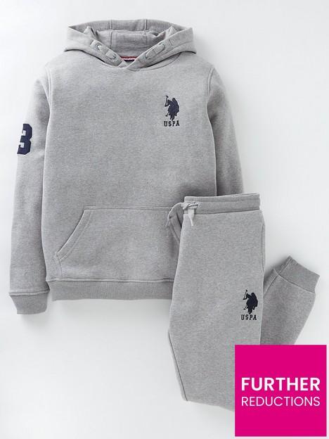 us-polo-assn-boys-player-3-hoodie-and-jog-set-grey-marl
