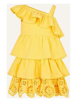 monsoon-girls-broderie-frill-dress-yellow