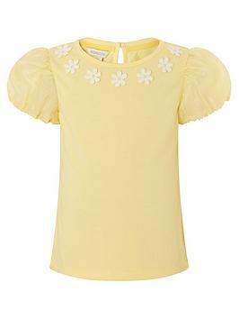 monsoon-girls-daisy-organza-top-yellow