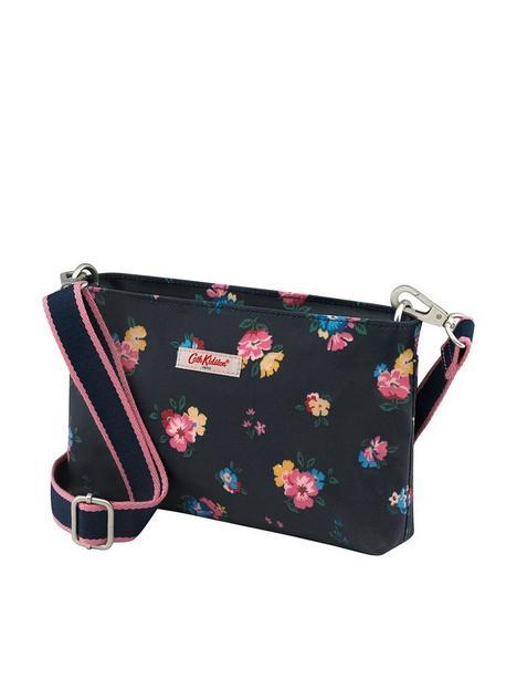 cath-kidston-meadow-bunch-small-zipped-crossbody-bag-navy