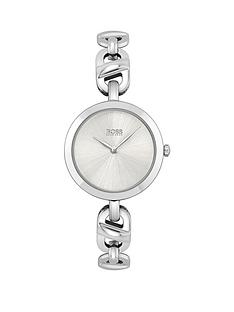 boss-chain-stainless-steel-ladies-watch