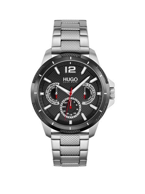 hugo-hugo-sport-black-dial-and-stainless-steel-bracelet-gents-watch
