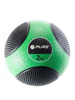 pure2improve-deluxe-medicine-ball-2kg