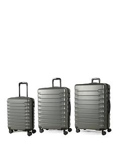 rock-luggage-synergy-8-wheel-suitcases-3-piece-set-charcoal