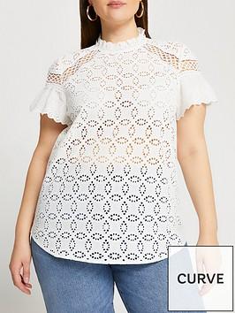 ri-plus-broderie-trim-shirt-white