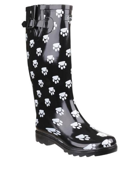 cotswold-dog-paw-wellington-boots