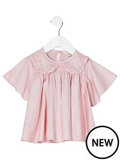 river-island-mini-mini-girls-poplin-shirt--nbsppink