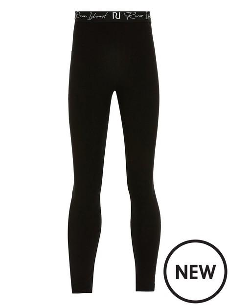 river-island-girlsnbspmultibuy-waistband-legging-black