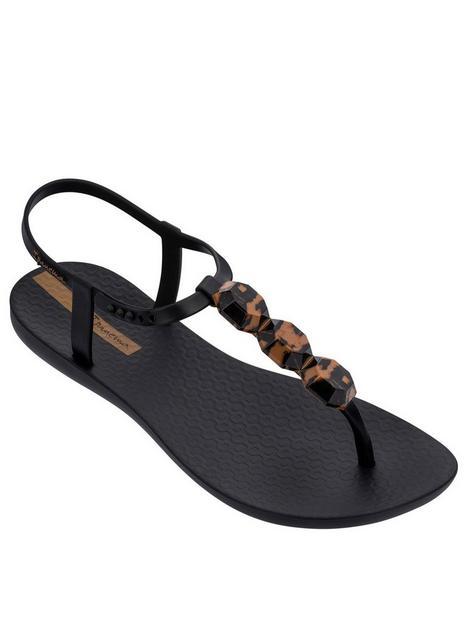 ipanema-charm-flip-flop-black