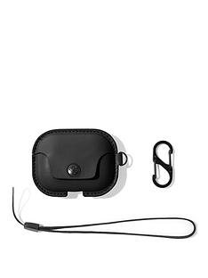 twelve-south-twelve-south-airsnap-pro-leather-protective-casecover-with-loss-prevention-clip-and-optional-carry-strap-for-airpods-pro-black