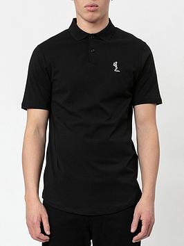 religion-core-classic-jersey-polo-shirt-black