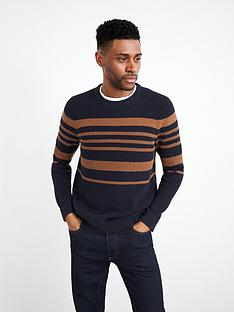 white-stuff-corrdon-block-stripe-crew-neck-jumper-navy