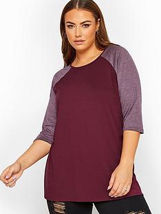 yours-yoursnbsplimited-raglan-sleeve-top-purple