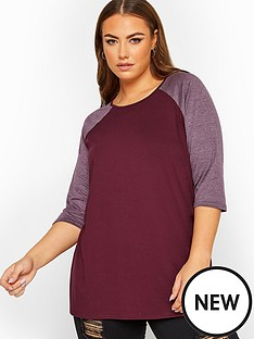 yours-yoursnbsplimited-raglan-sleeve-top-purple