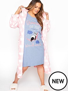 yours-yoursnbspdreaming-pandanbspnightdress-blue