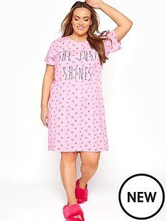 yours-yoursnbspshe-just-shinesnbspnightdress--nbsppink