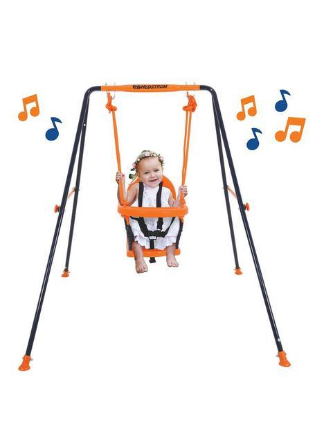 hedstrom-musical-folding-toddler-swing