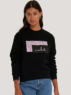 na-kd-logo-sweater
