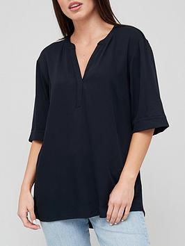 v-by-very-jersey-back-notch-neck-blouse-black