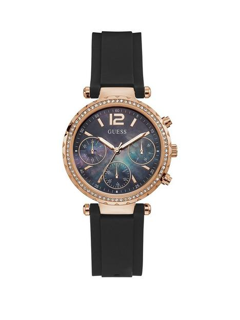 guess-guess-solstice-black-dial-ladies-dress-watch