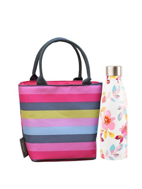 summerhouse-by-navigate-gardenia-insulated-stripe-lunch-tote-amp-500ml-insulated-drink-bottle
