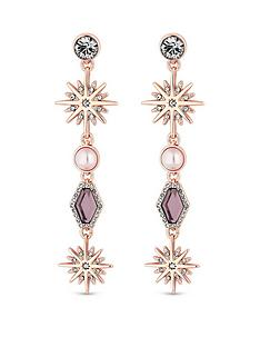mood-rose-gold-pink-crystal-celestial-long-drop-earring