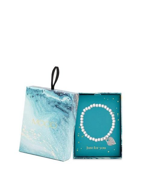 mood-silver-plated-crystal-rhondelle-pave-heart-stretch-bracelet