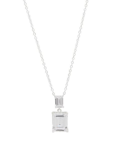 simply-silver-sterling-silver-925-emerald-cut-double-pendant