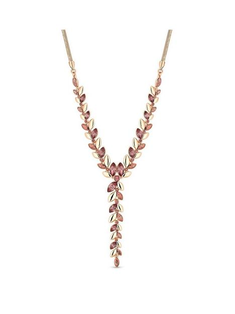 mood-rose-gold-plated-pink-and-purple-crystal-necklace