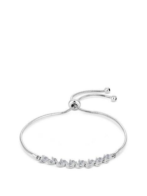 simply-silver-sterling-silver-925-cubic-zirconia-marquise-vine-toggle-bracelet