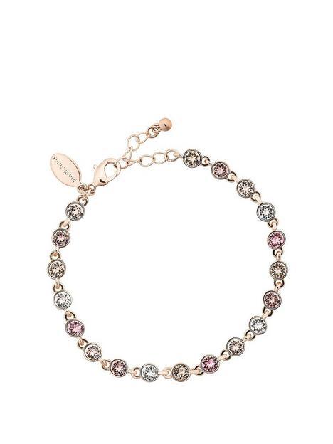 jon-richard-rose-gold-tennis-bracelet