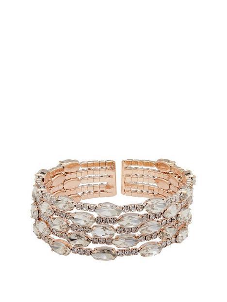 mood-rose-gold-plated-diamante-cuff-bracelet