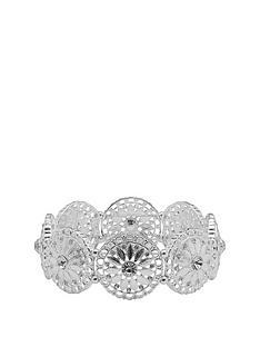 mood-silver-plated-wide-filagree-stretch-bracelet