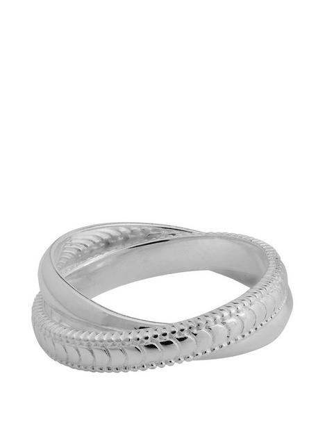 simply-silver-simply-silver-sterling-silver-925-double-polished-and-texture-ring