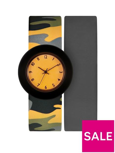 tikkers-grey-cameo-2-strap-kids-watch