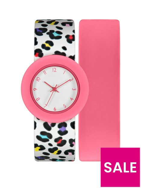 tikkers-tikker-pink-leopard-2-strap-kids-watch