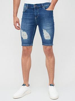 sik-silk-distressed-denim-shorts-midstonenbsp