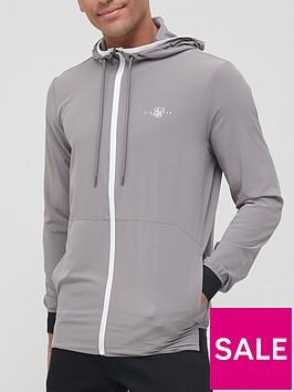 sik-silk-siksilk-agility-ripstop-zip-through-hoodie