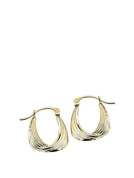 love-gold-love-gold-9ct-yellow-gold-swirl-creole-handbag-creole-earrings